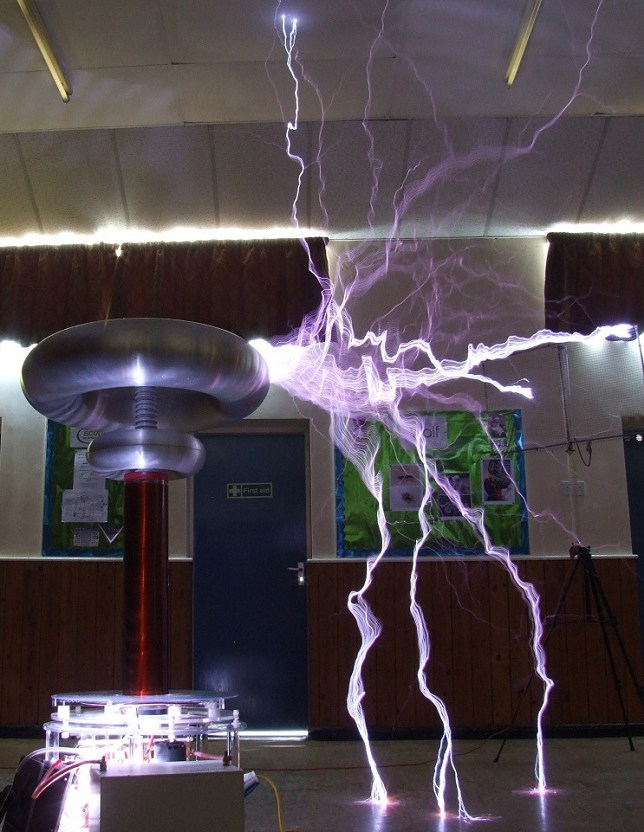 6 inch Tesla coil