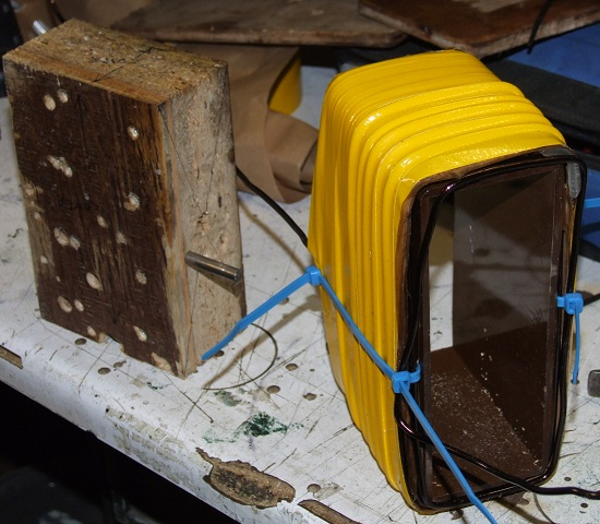 tesla coil ballast removed from its former