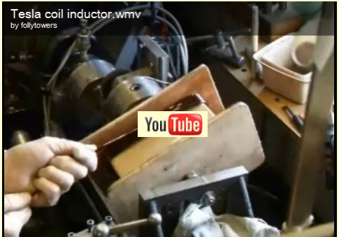 video of the coil winding process